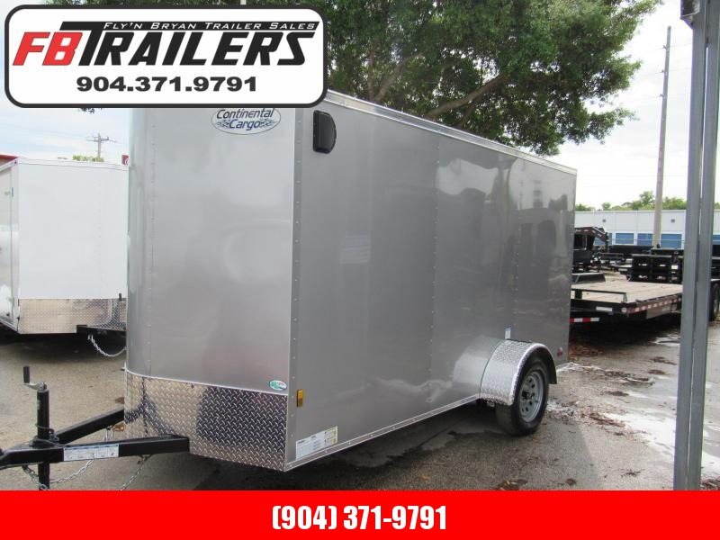 2021 Continental Cargo 6x10 Enclosed Cargo Trailer