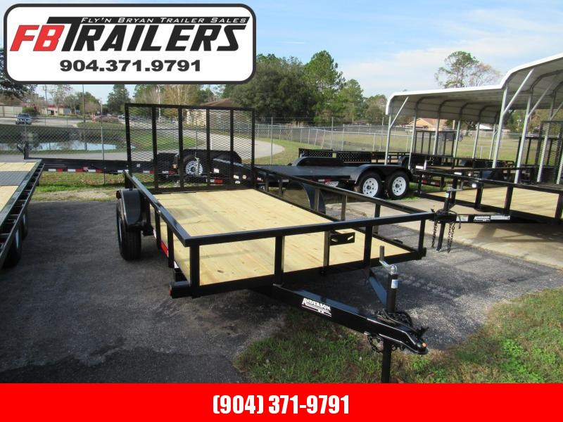 2020 Anderson Manufacturing 6X10 Utility Trailer