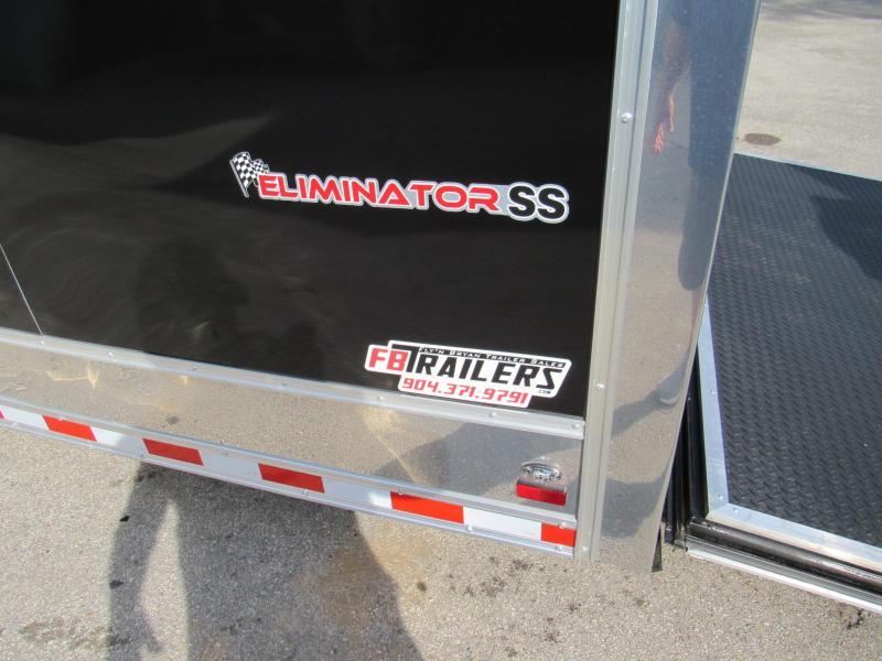 2021 Cargo Mate 34ft Eliminator Series Car / Racing Trailer
