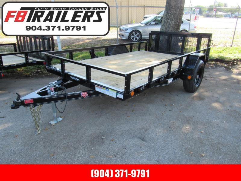2021 PJ Trailers 7X12 5200lb Axle Utility Trailer