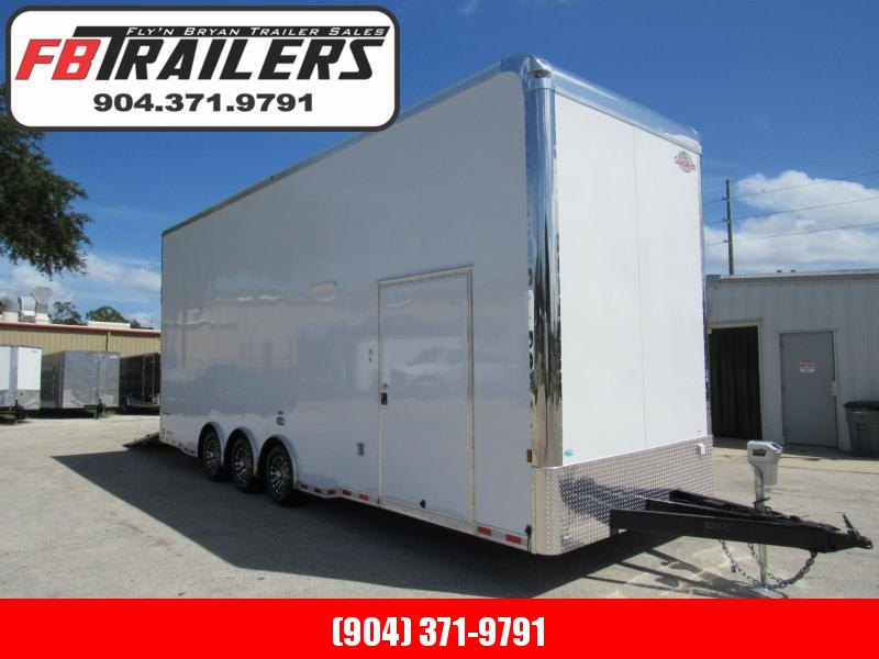 2021 Cargo Mate 28ft Stacker Car / Racing Trailer