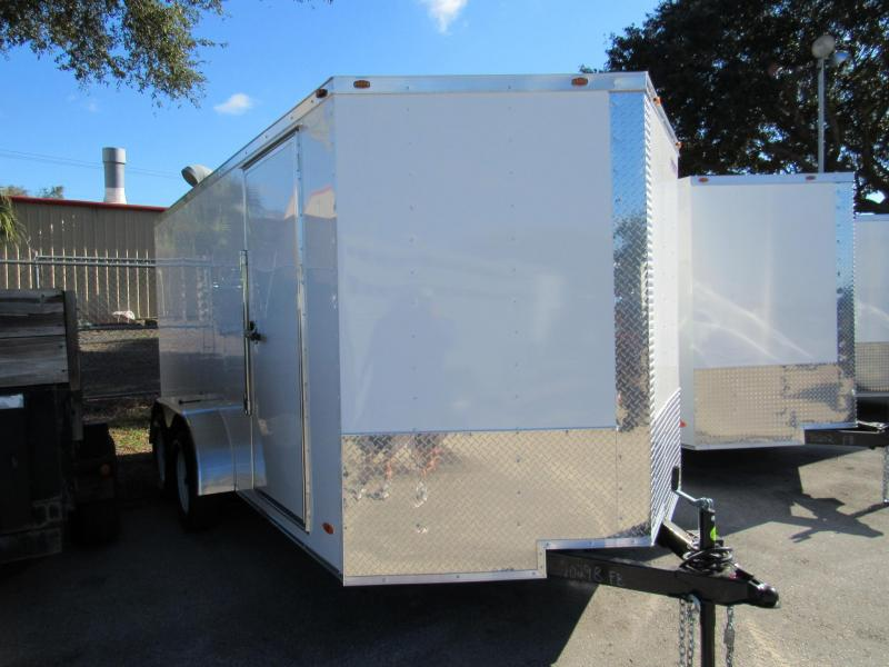 2021 Freedom Trailers 7X14 Enclosed Cargo Trailer