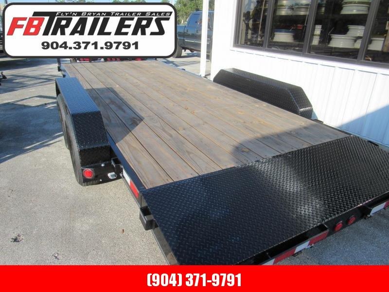 2022 PJ Trailers PJ Car Hauler Equipment Trailer