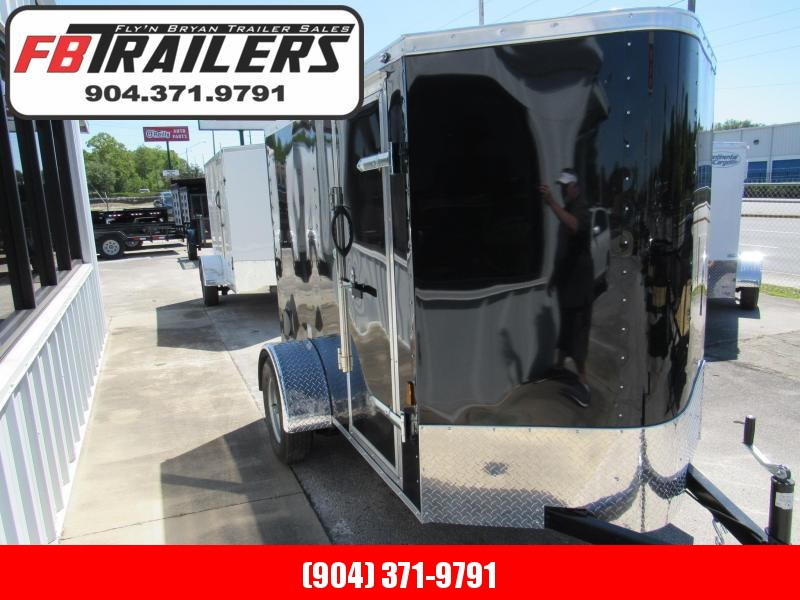 2021 Continental Cargo 5X8 Ramp Door Enclosed Cargo Trailer