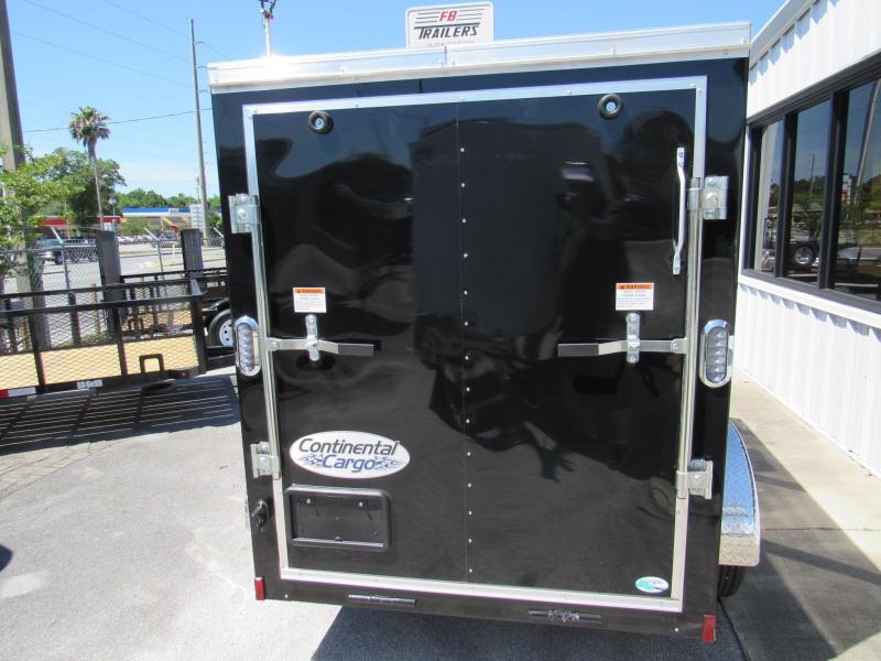 2021 Continental Cargo 5X8 Ramp Door Enclosed Cargo Trailer