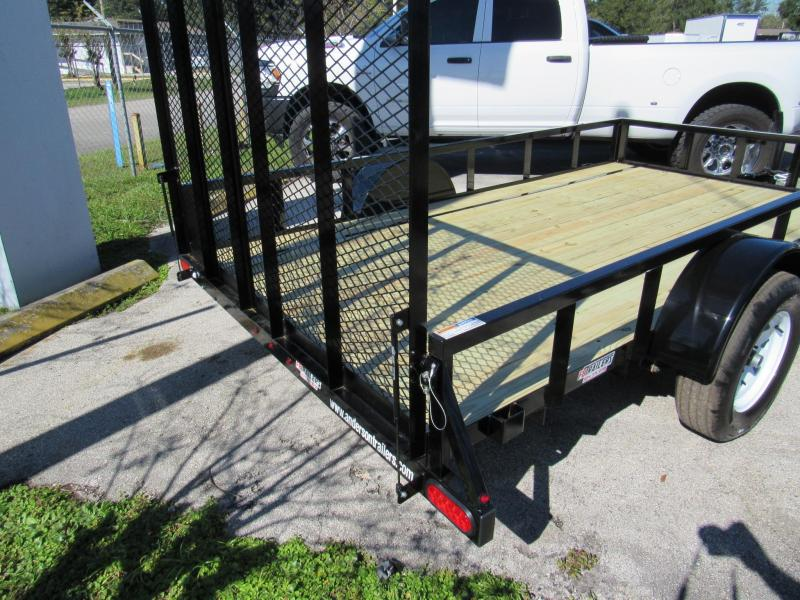 2021 Anderson Manufacturing 6X12 Utility Trailer