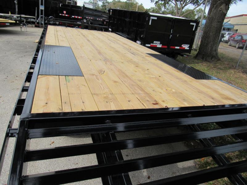2021 PJ Trailers 24FT F8 Deckover Equipment Trailer