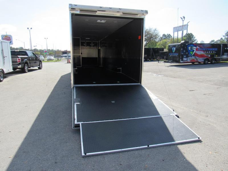 2021 Cargo Mate 34ft Eliminator Car / Racing Trailer