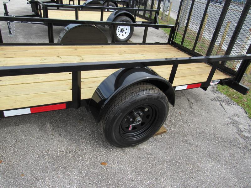 2020 Anderson Manufacturing 5X14 Single Axle Utility Trailer