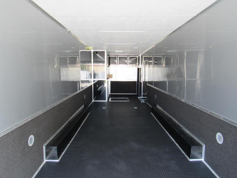 2021 Cargo Mate 34 ft Black Out Eliminator Car / Racing Trailer