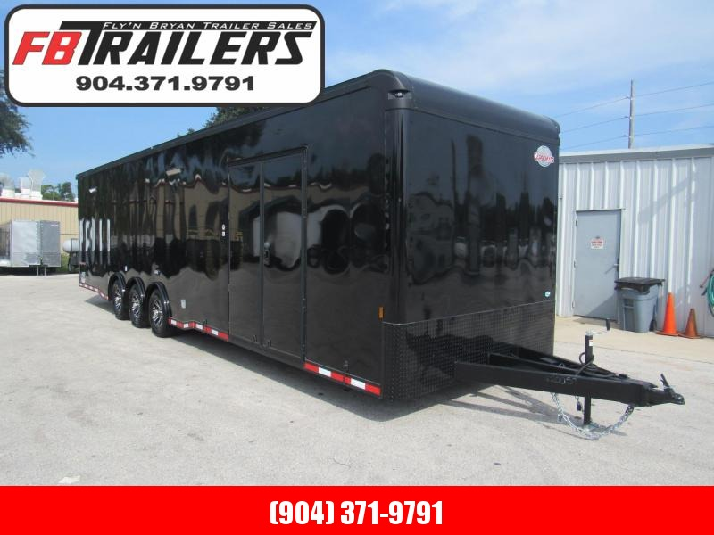 2021 Cargo Mate 34 ft Black Out Eliminator Car / Racing Trailer