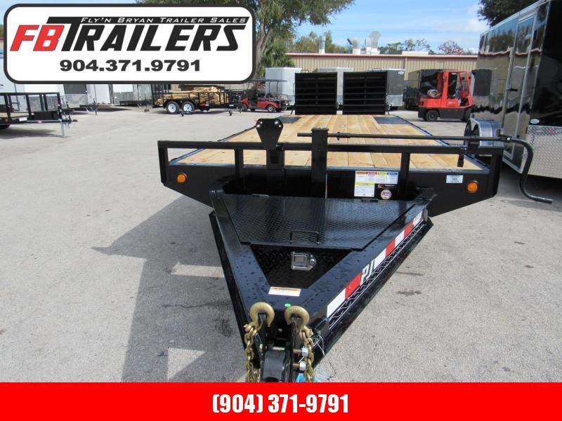 2020 PJ Trailers 24Ft Deckover Equipment Trailer