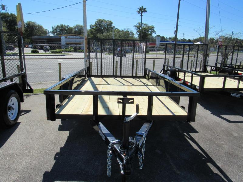 2021 Anderson Manufacturing 6X12 Tandem Utility Trailer