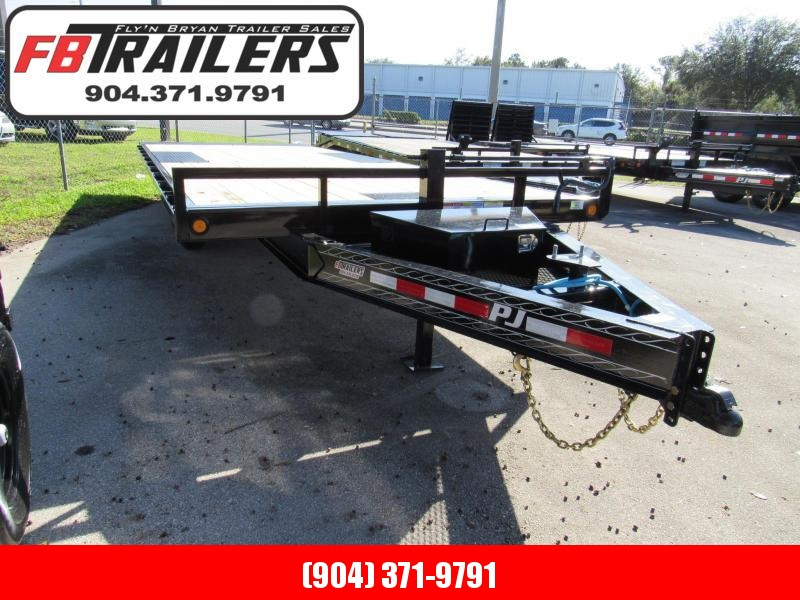 2021 PJ Trailers 22ft Decover Tilt Equipment Trailer