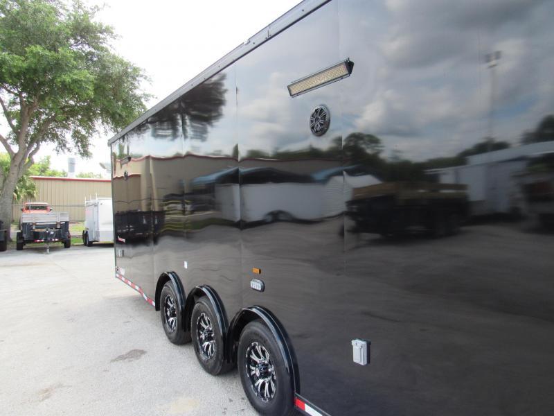 2022 Cargo Mate 34ft Black Out Eliminator Series Car / Racing Trailer
