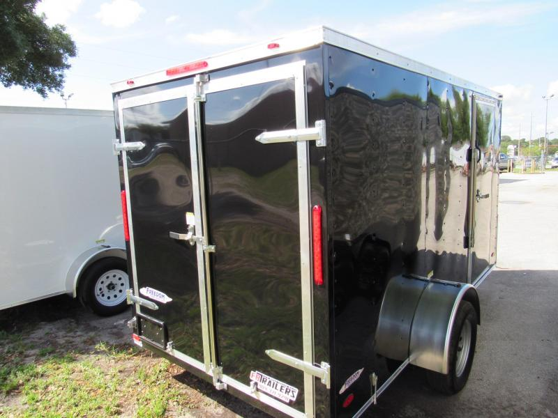 2021 Freedom Trailers 6X12 Rear Double Doors Enclosed Cargo Trailer