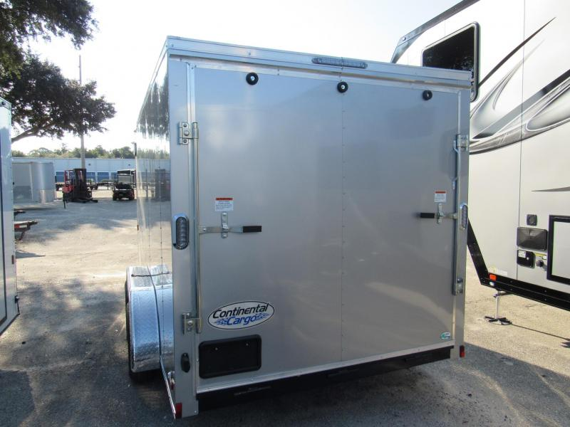 2021 Continental Cargo 7X14 Enclosed Cargo Trailer