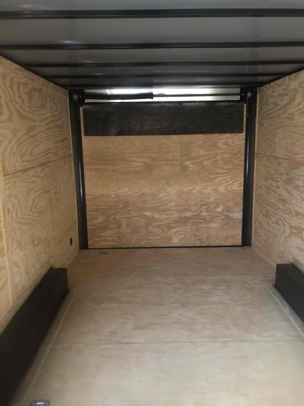 2021 Anvil 8.5x20TA Black Anvil Enclosed Cargo Trailer
