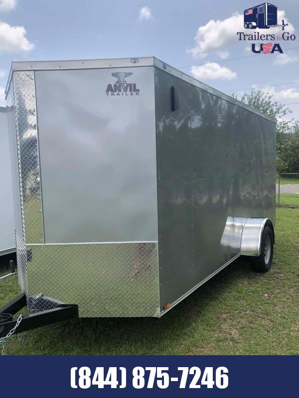 2021 Anvil 6x14 Single axle Enclosed Cargo Trailer