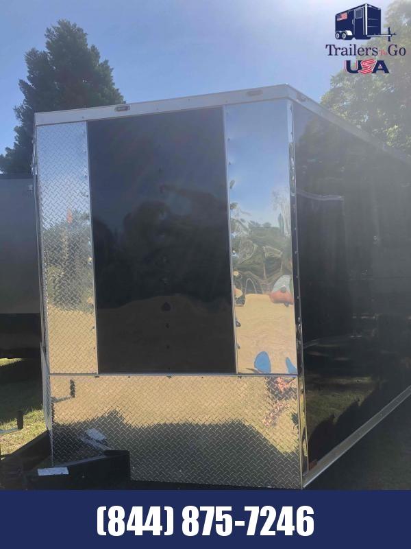 2021 Anvil 8.5X20 Black Anvil Enclosed Cargo Trailer