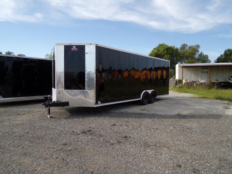 2019 Anvil 8.5 x 24 Tandem Axle Enclosed Cargo Trailer