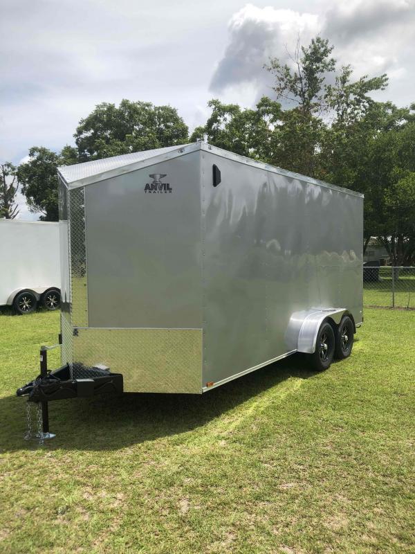 2021 Anvil 7x16TA Silver Frost Trailer Enclosed Cargo Trailer
