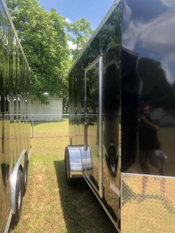 2021 Anvil 7x12 Single axle Black Anvil Trailer Enclosed Cargo Trailer