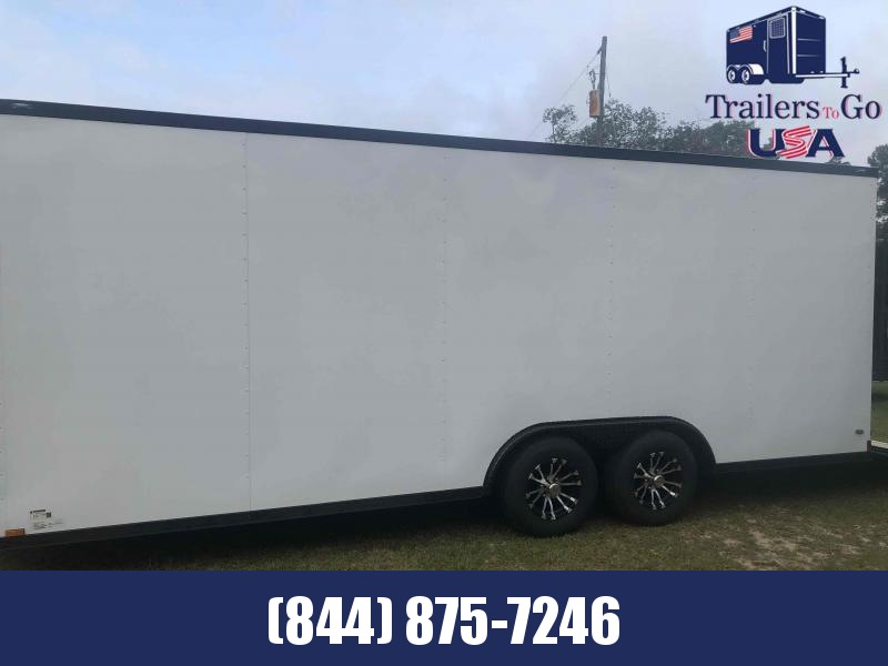 2021 Anvil 8.5x20TA White Anvil Enclosed Cargo Trailer