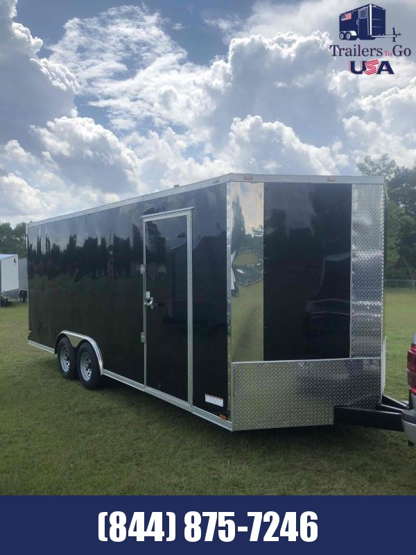 2021 Anvil 8.5x20 Tandem Axle Enclosed Cargo Trailer