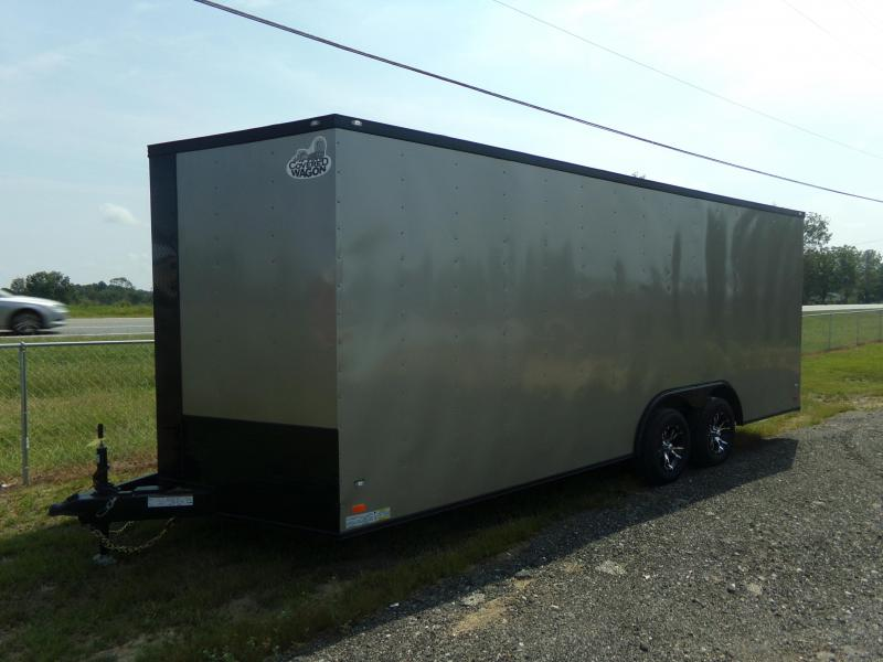2020 Covered Wagon Trailers 8.5x20TA COVERED WAGON BLACK OUT Enclosed Cargo Trailer
