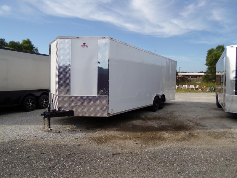 2020 Anvil 8.5 x 24 Tandem Axle Enclosed Cargo Trailer