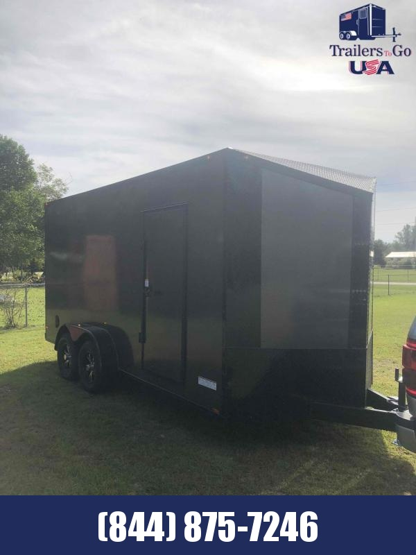 2021 Anvil Charcoal with Blackout Package Enclosed Cargo Trailer