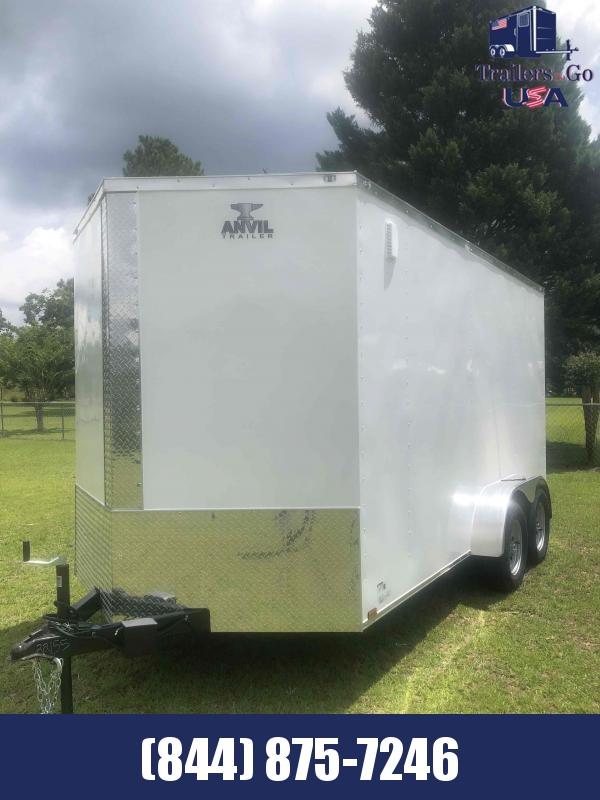 2021 Anvil 7x14 Tandem Axle Enclosed Cargo Trailer