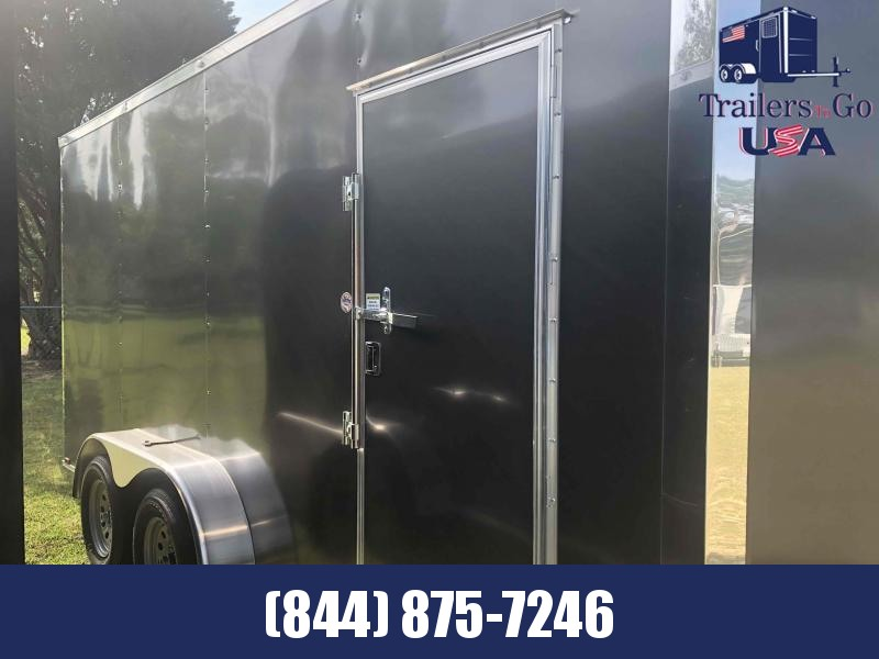 2021 Spartan Cargo 7x16TA Charcoal Spartan Enclosed Cargo Trailer