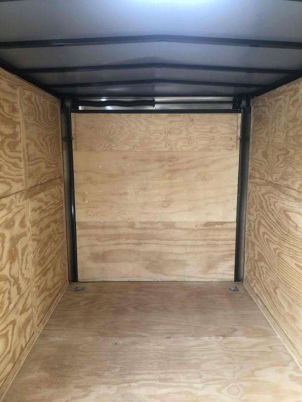 2021 Spartan Cargo 7x16TA White Spartan Trailer Enclosed Cargo Trailer