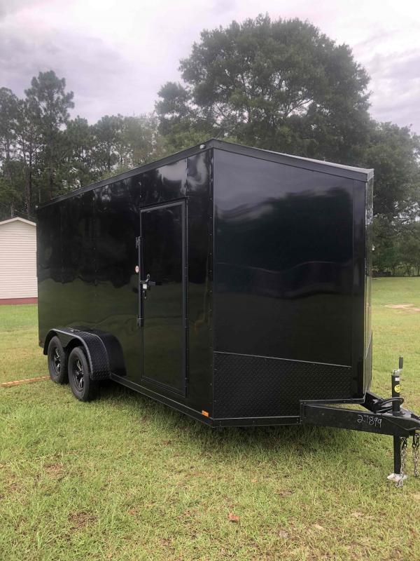 2021 Spartan Cargo 7x16 Tandem Axle Enclosed Cargo Trailer