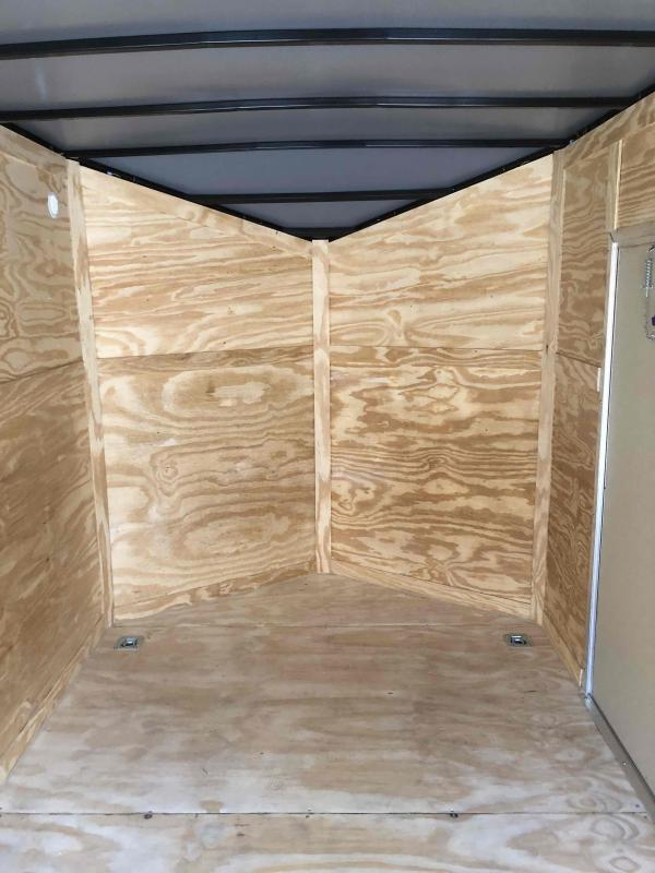 2021 Anvil Cargo 7x16TA White Anvil Trailer Enclosed Cargo Trailer
