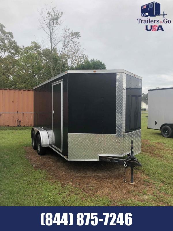 2018 Empire Cargo 7x14 Tandem Axle Enclosed Cargo Trailer