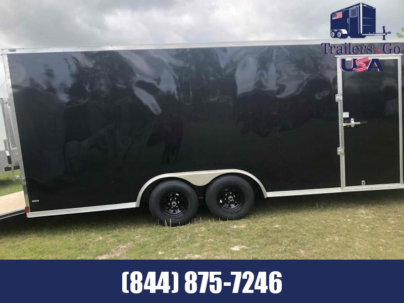 2021 Anvil 8.5X20 Black Anvil Enclosed Cargo Trailer