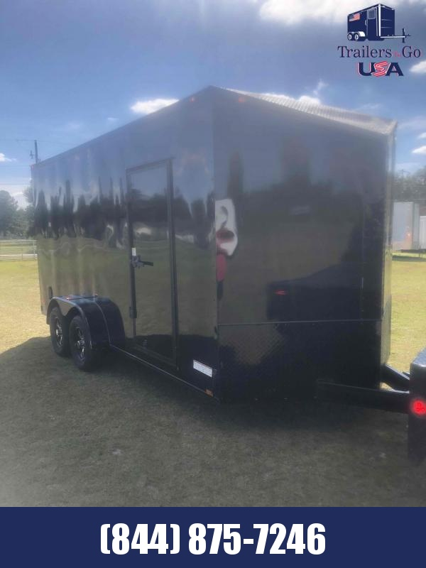 2021 Anvil 7X16 Tandem Axle Enclosed Cargo Trailer