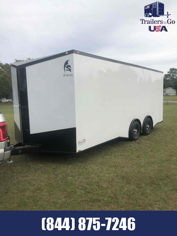 2021 Anvil 8.5x20TA Black Spartan Enclosed Cargo Trailer