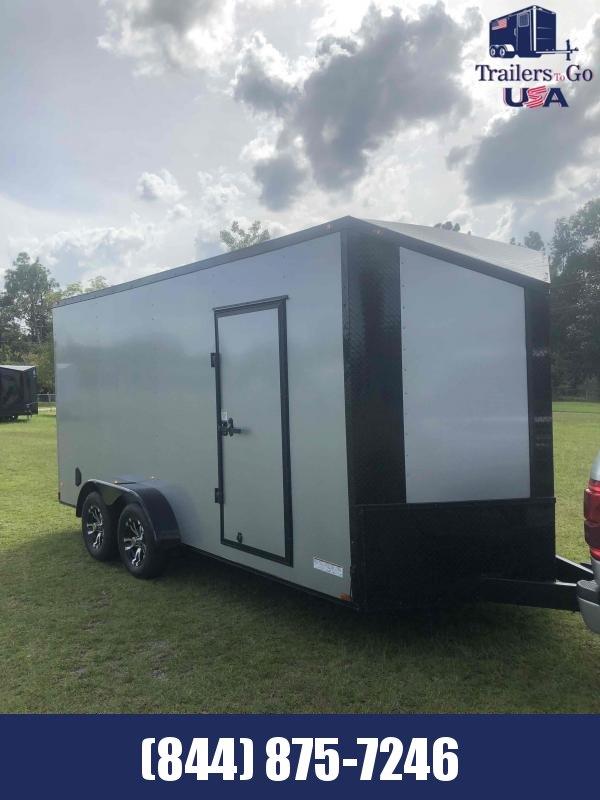 2021  7x16TA Silver Anvil  Enclosed Cargo Trailer