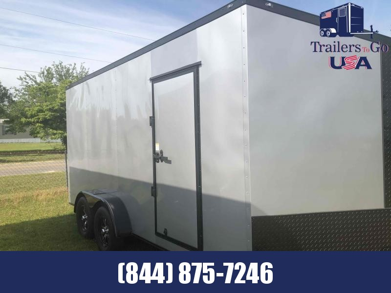 2021 Anvil Silver Frost with Blackout Package Enclosed Cargo Trailer