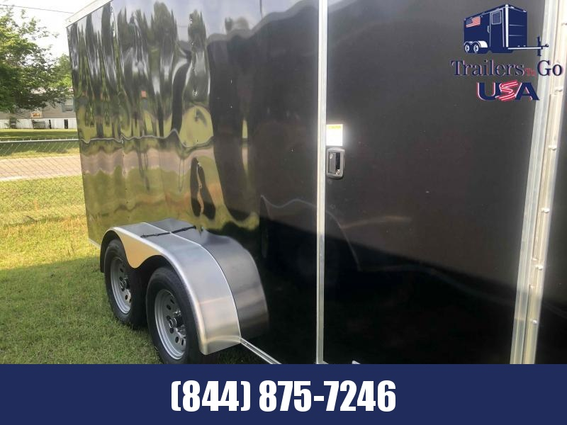2021 Anvil Black 7x16 tandem axle Enclosed Cargo Trailer