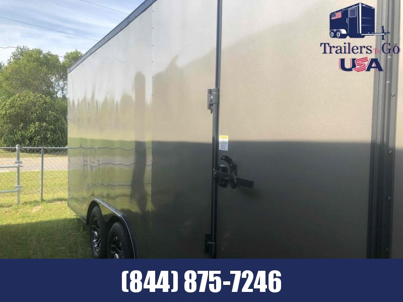2021 Anvil 8.5x20TA Pewter Anvil Enclosed Cargo Trailer