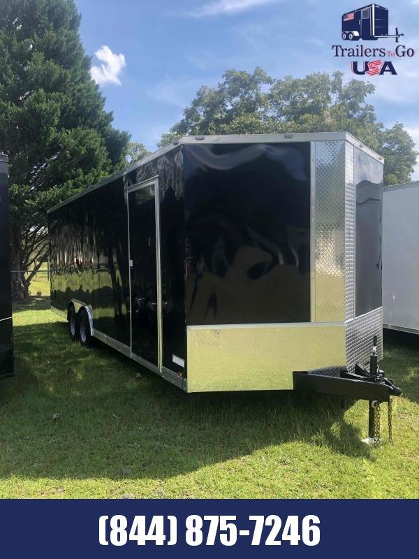 2021 Anvil 8.5X24 Black Anvil Enclosed Cargo Trailer