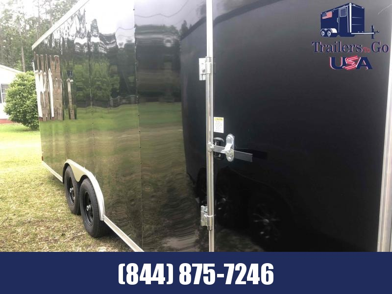 2021 Anvil 8.5X24 Black Anvil Enclosed Cargo Trailer