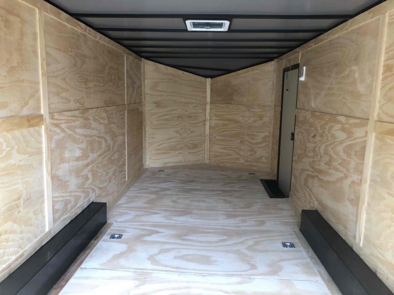 2021 Anvil 8.5x20TA White Anvil Enclosed Cargo Trailer