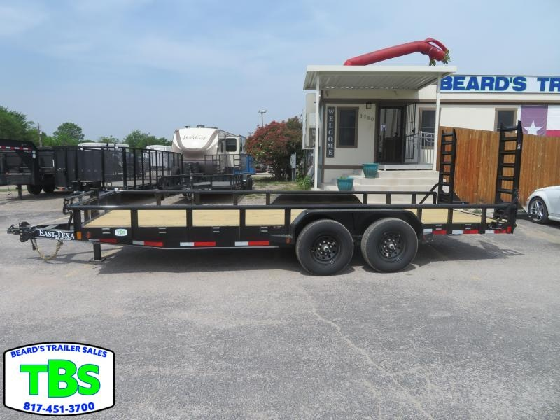 2021 East Texas 83x20 Equipment Trailer