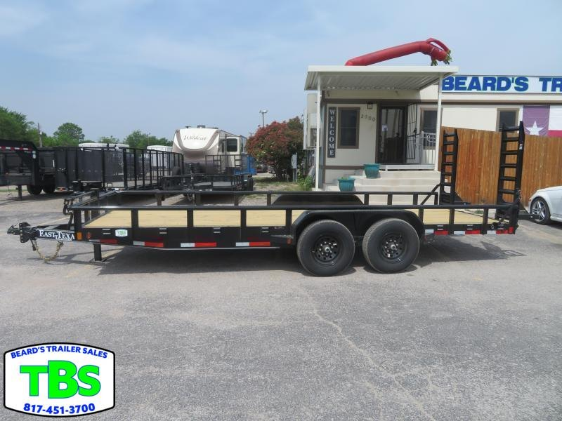 2021 East Texas 83x16 Equipment Trailer